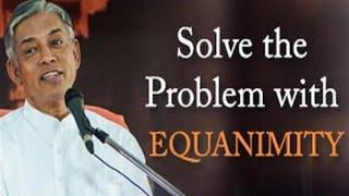 Lösen Sie das Problem mit Gleichmut