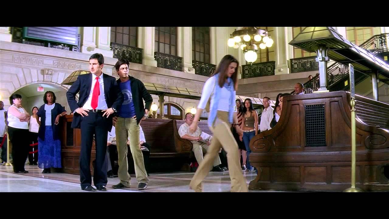 Download Kal Ho Naa Ho - I Love You Naina - Train Station Sad Scene Complete - HD Quality - HQ Sound