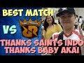 BEST MATCH SAINTS INDO VS RRQ - JESS NO LIMIT - MOBILE LEGENDS