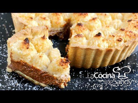 Tarta de Coco y Dulce de Leche - RECETA FACIL y RAPIDA