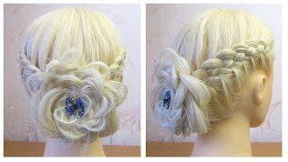 Tuto coiffure soirée/mariage/pour les fêtes/Noël 💫 facile à faire 💫 Easy Prom Hairstyles