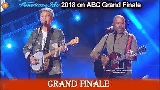 "Caleb Lee Hutchinson and Darius Rucker Duet ""Wagon Wheel""   American Idol 2018  Grand Finale"