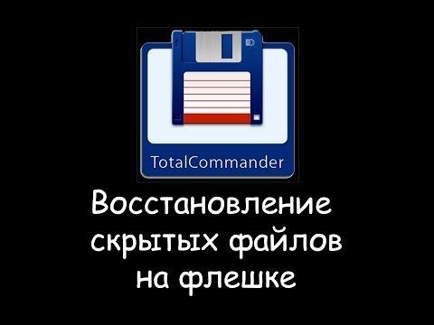 Восстановление скрытых файлов и папок на флешке после вируса