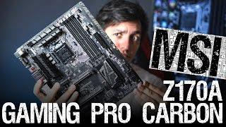 MSI Z170A Gaming Pro Carbon: черный ей к лицу