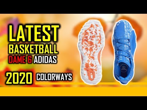 2020 Upcoming Adidas Basketball Dame 6 Shoes Colorways