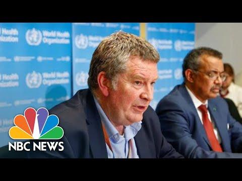 World Health Organization Provides Update On Coronavirus | NBC News (Live Stream Recording)