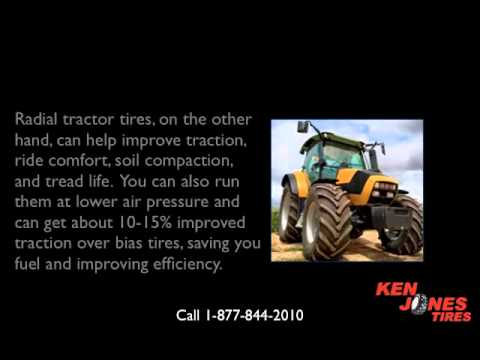 Farm Tractor Tires: Choosing Bias or Radial