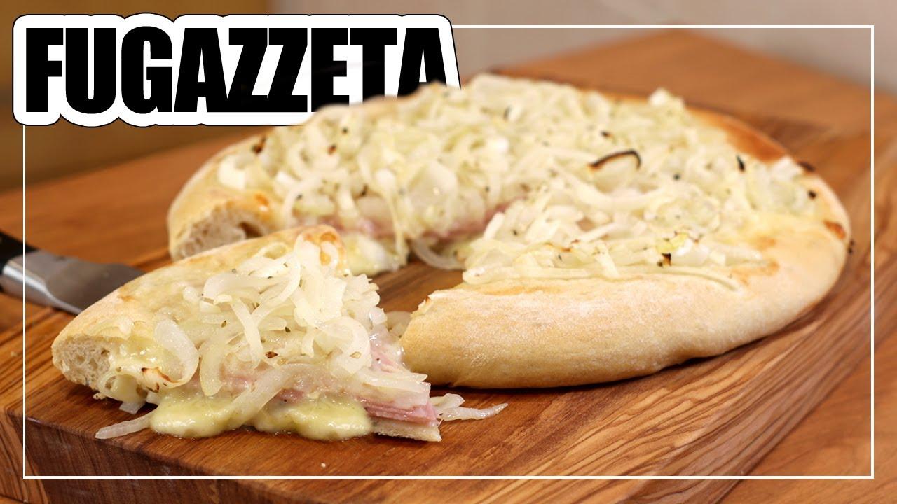 🍕PIZZA FUGAZZETA | Pizza Argentina RELLENA (Paso a paso SIN SECRETOS)