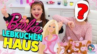 AVA + ??? bauen ganz ALLEINE das Barbie Lebkuchenhaus 😂 💪 Geschichten und Spielzeug