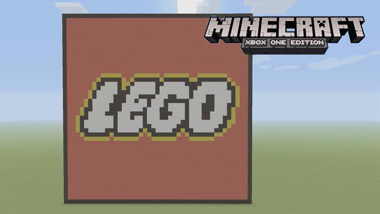 Minecraft: Pixel Art Tutorial And Showcase: LEGO Logo ...