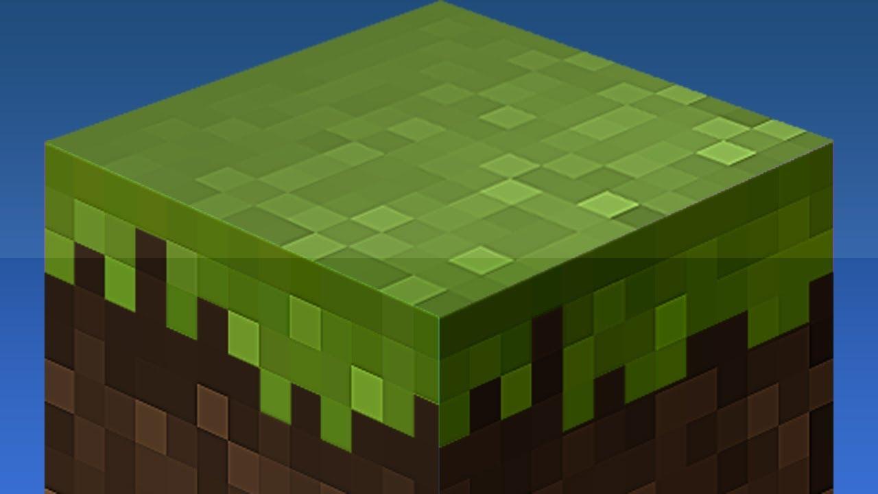 Create a Minecraft Block Icon in Photoshop |