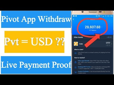 Pivot Pvt Coins withdrawal 2019 | Pvt to Btc Exchange Process
