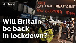 Britain could be heading for second lockdown as Covid cases keep rising