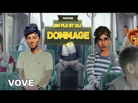BigFlo & Oli - DOMMAGE (Parodie Fortnite) • Studio Nordic