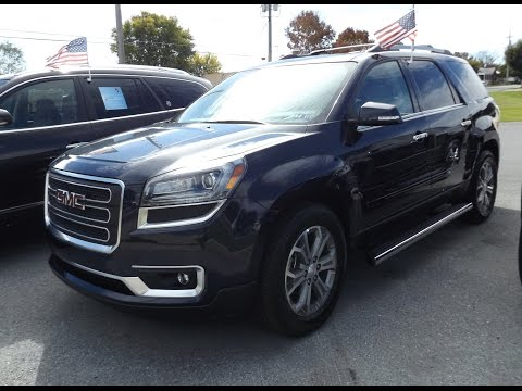 Thumbnail: 2015 GMC Acadia AWD 3.6L V6 Start Up, Tour and Review