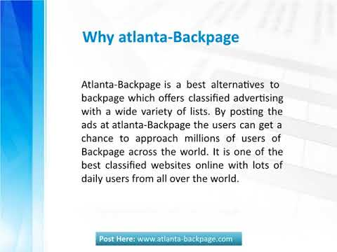 Sites Similar To Backpage Com