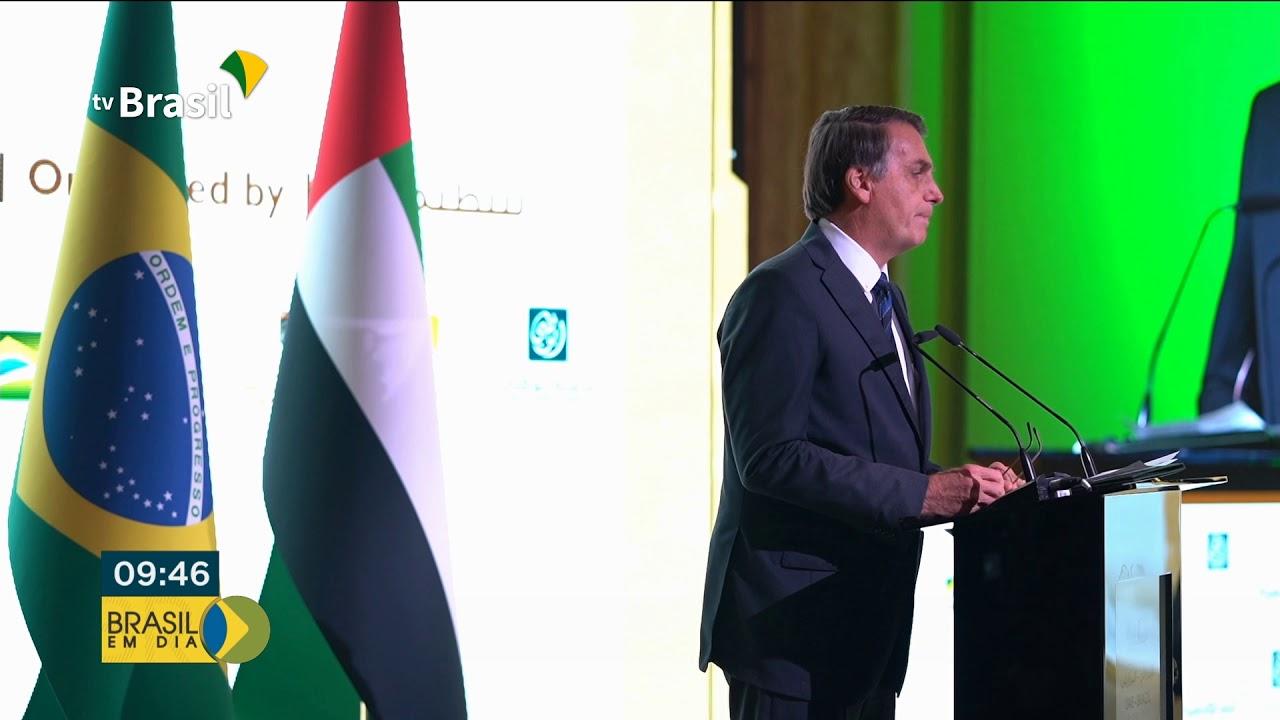 Presidente Bolsonaro chega ao Catar