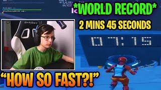 TSM Slappie Reacts to WORLD RECORD in Mongraal Edit Course (2:45) | Fortnite Twitch Moments