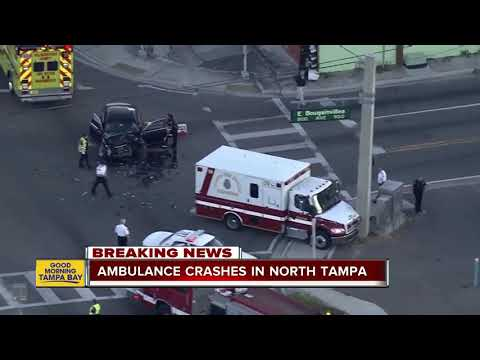 3 children, 2 adults hit by car in North Tampa
