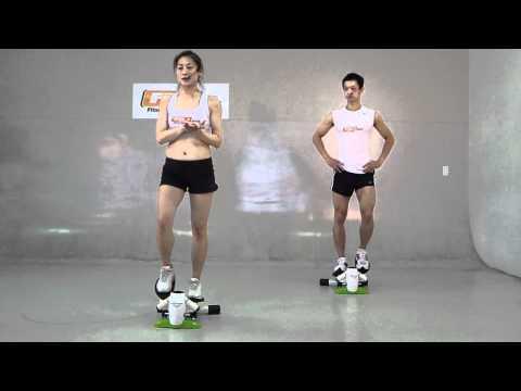FD健身網  初始適應篇  企鵝踏步機有氧側拍  踏步機  健身教練 ...