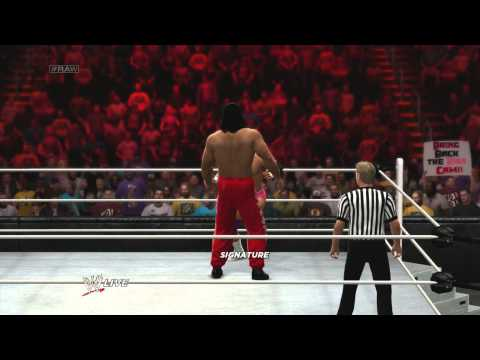 WWE2K14  Storylines Raw Week 4 - Keep your friends close... Part 1