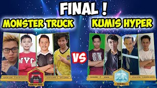 FINAL || KUMIS HYPER VS MONSTER TRUCK || TOURNIVERSARY