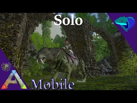 ARTIFACT OF THE HUNTER, LOOT, AND NEW PTERA! Solo ARK: Mobile [S1:E13]
