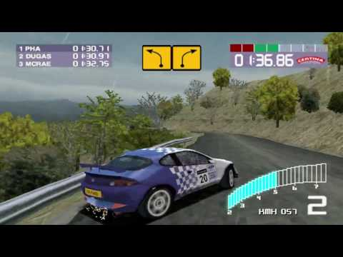 Colin Mcrae Rally 2 - Playthrough Part 18 : Expert Rally Championship - Italy
