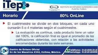 Licenciatura en Adm de Empresas |Centro de Estudios ITEP | Instituto de Estudios Superiores ISIMA
