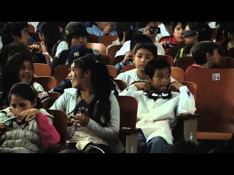 Cine 3D en Palpalá, Jujuy