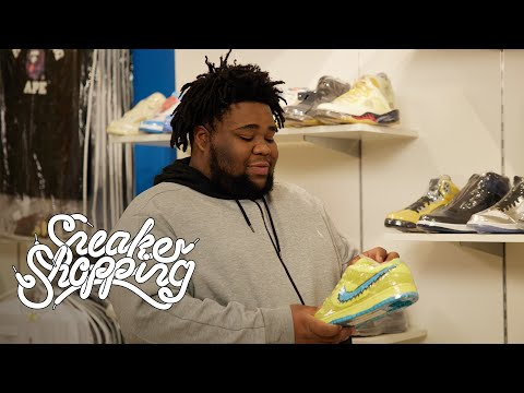 Rod Wave Goes Sneaker Shopping With Complex