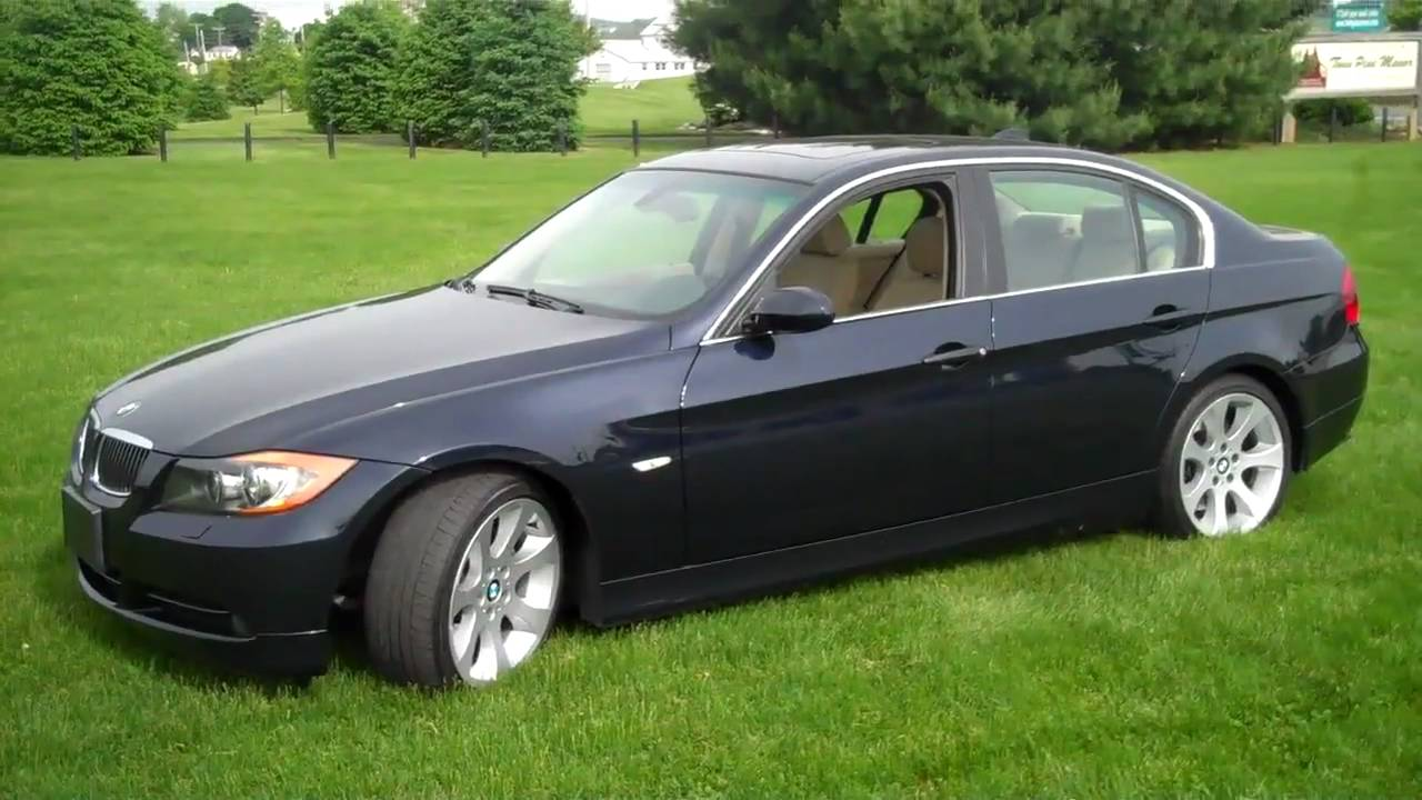BMW 330I SPORT PACKAGE - YouTube