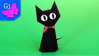 Оригами Кот Дзи-Дзи из бумаги