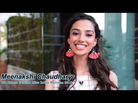Introducing fbb Colors Femina Miss India Haryana 2018 Meenakshi Chaudhary