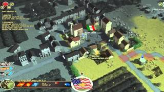 Lets Play Battle Academy: Operation Husky #1