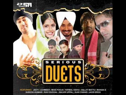 Miss Pooja Feat. Lehmber Hussainpuri - Mera Mahi Tu Pateya