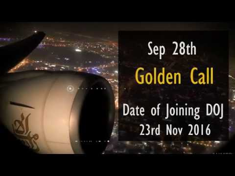Emirates Cabin crew Timeline