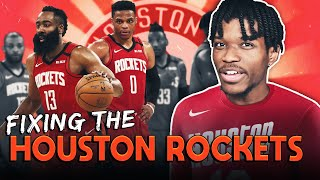 REBUILDING THE HOUSTON ROCKETS IN NBA 2K21