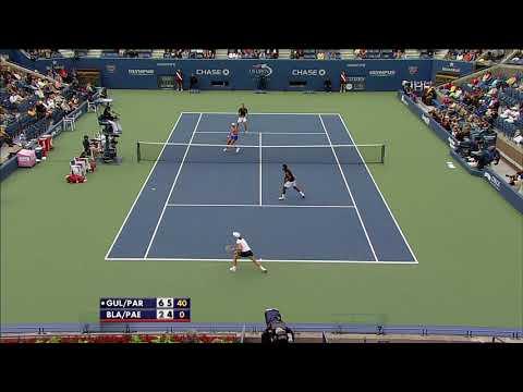 US Open Throwback Parrott Gullickson 2009 Mixed Doubles Champions