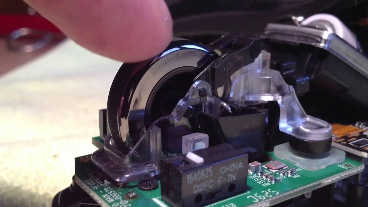 Performance MX scroll wheel workings