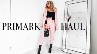One of Laura Meachem's most viewed videos: I SPENT £180 IN PRIMARK!! HUGE MARCH HAUL 18 // Spring Styling