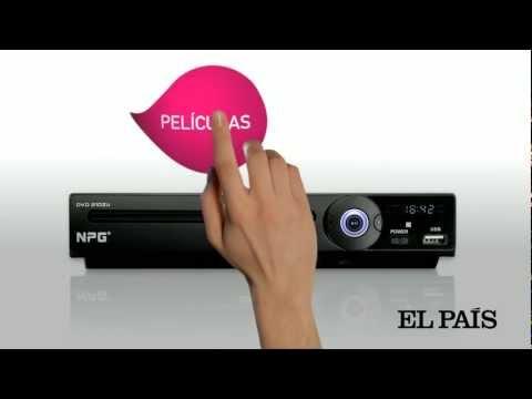 Reproductor DVD NPG a un precio increíble con El País.mov
