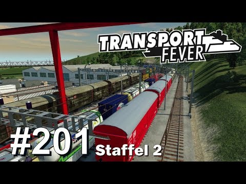 TRANSPORT FEVER S2/#201: Volle Güterbahnhöfe [Let's Play][Ga