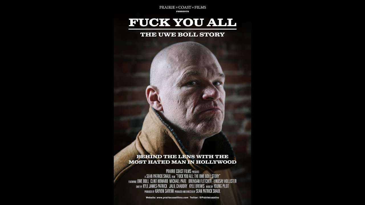 Remember Uwe Boll? Someone's made a documentary about him