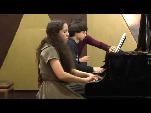 "Mozart - Piano Concerto No 22 E flat major K 482 at the ""Voice of music young artist competition"""
