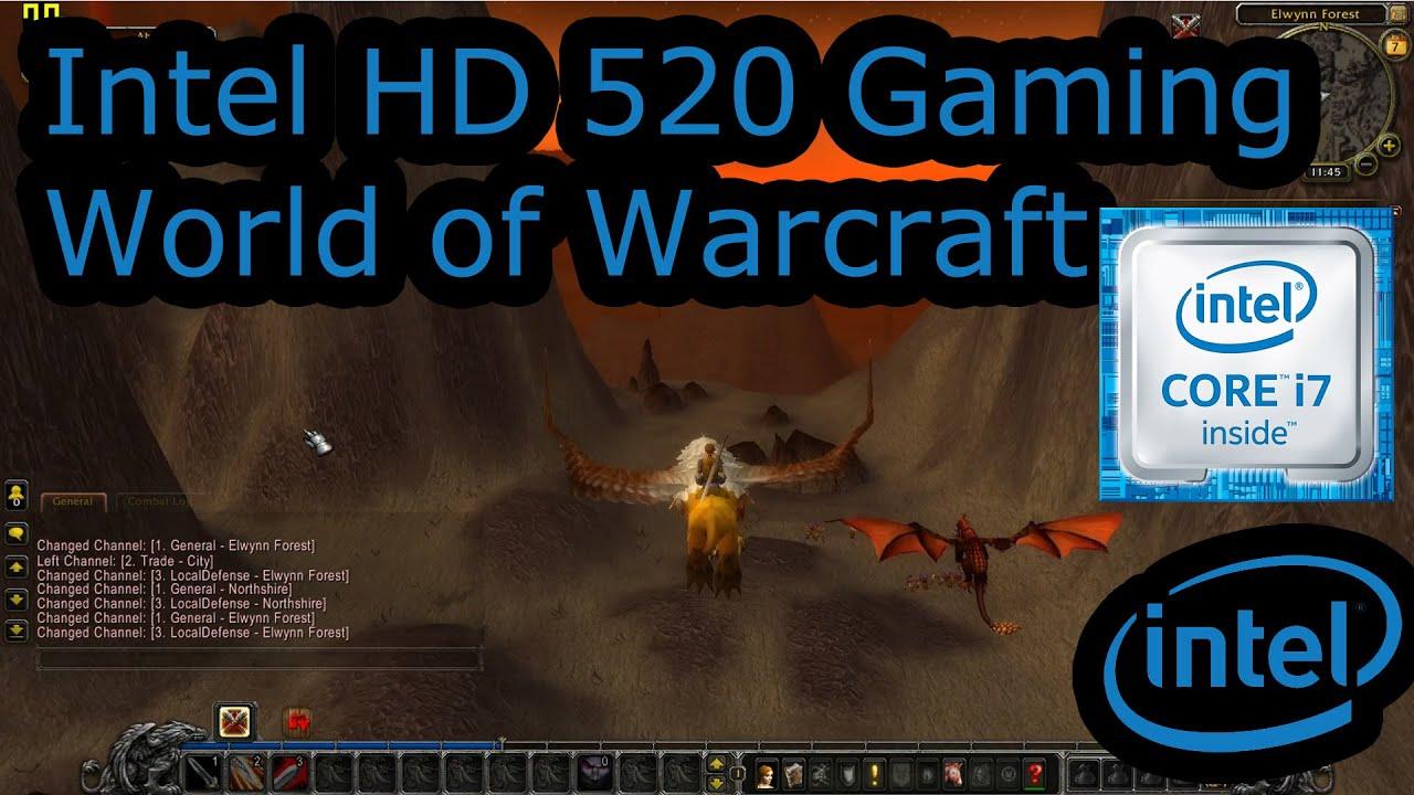intel hd 520 gaming world of warcraft skylake i3 6100u i5 6200u i7 6500u surface 4 pro. Black Bedroom Furniture Sets. Home Design Ideas