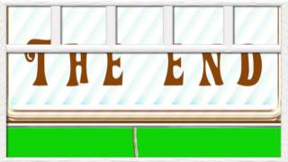 Green Screen The End Window Free Animation Футаж Конец Фильма Хромакей