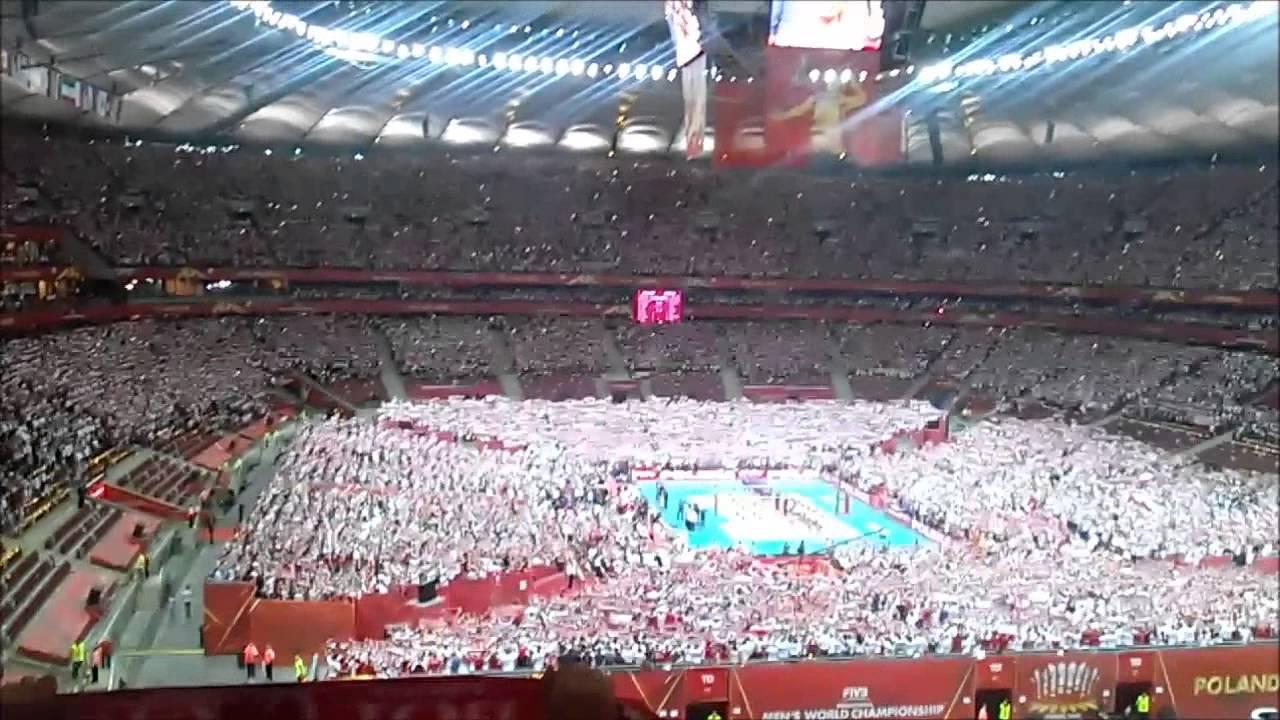 Hymn Na Otwarcie Mistrzostw Swiata W Siatkowce Mezczyzn