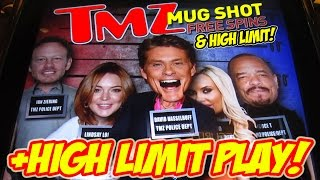 HIGH LIMIT SLOT MACHINE PLAY + THE NEW TMZ GAME(Get yourself an early CHRISTMAS GIFT!! http://www.VEGASHOBO.com I'm VegasLowRoller and this is my LET'S PLAY THE NEW TMZ THEN GO HIGH LIMIT!, 2016-10-21T18:00:00.000Z)