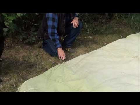 Canvas Tarp Tent On The Cheap